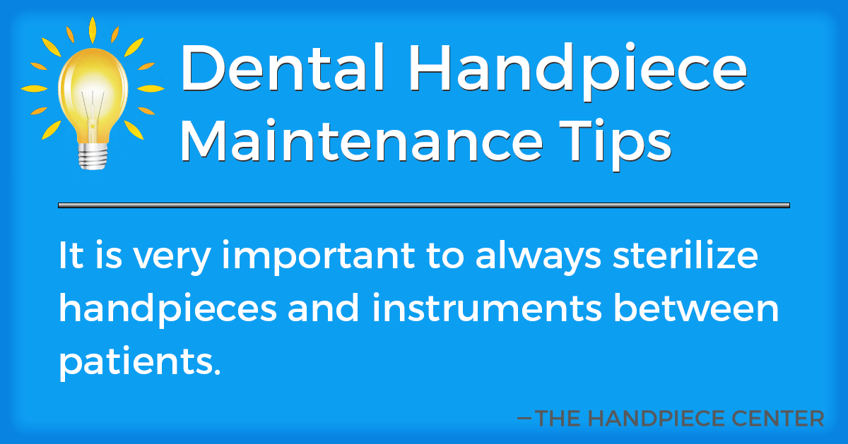 Thursday Tip # 4 by The Handpiece Center