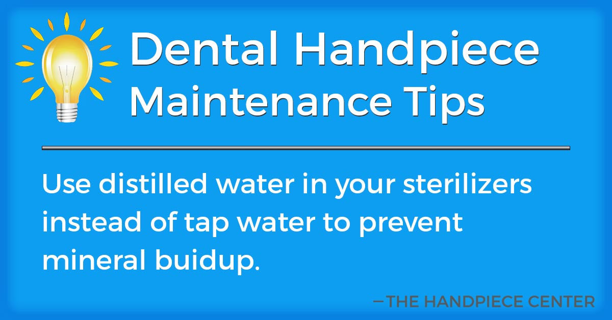 Thursday Tip # 5 by The Handpiece Center