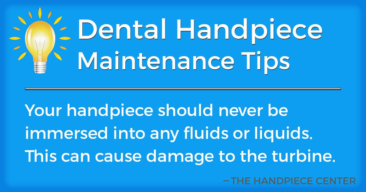 Thursday Tip # 7 by The Handpiece Center