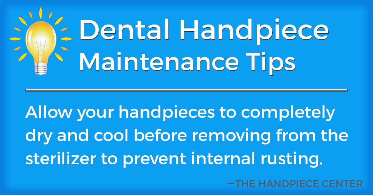 Thursday Tip # 8 by The Handpiece Center