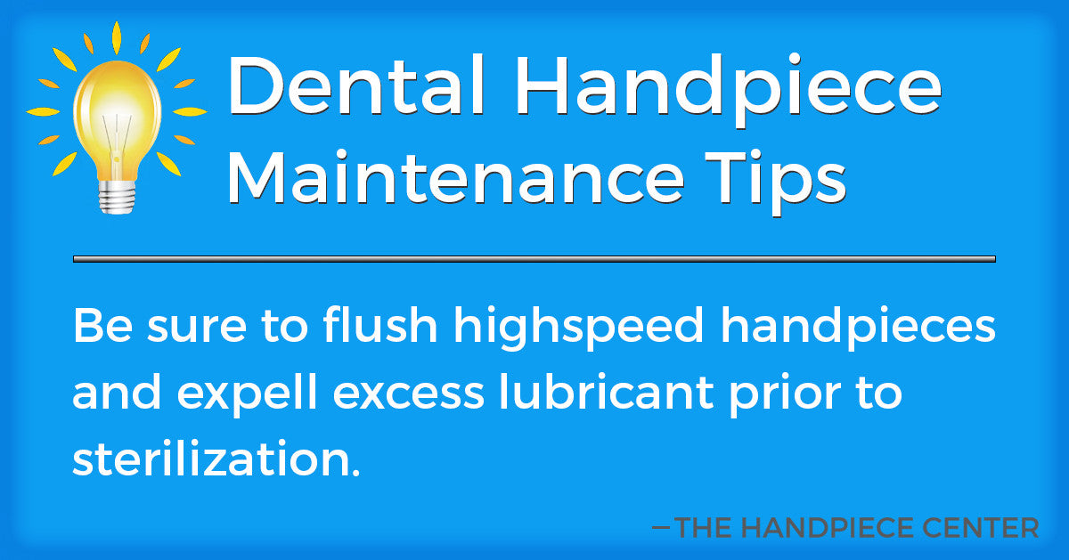 Thursday Tip # 1 by The Handpiece Center