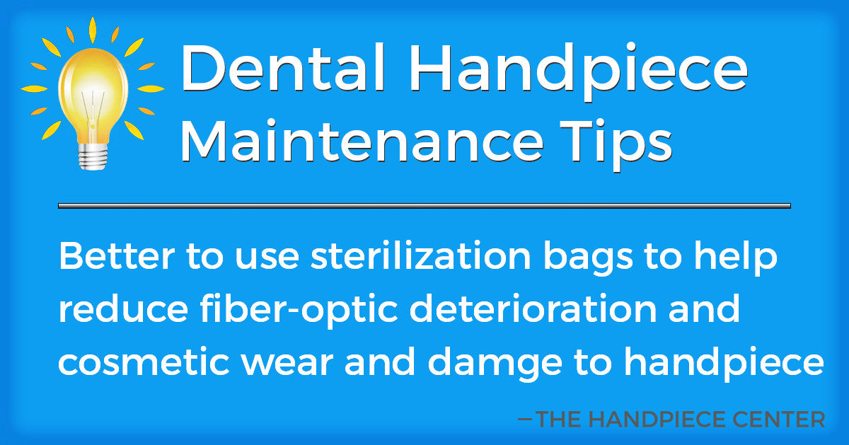 Thursday Tip # 2 by The Handpiece Center