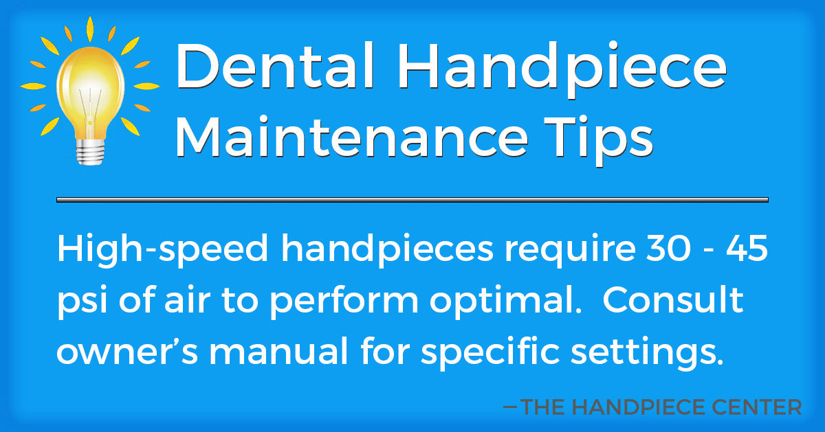 Thursday Tip # 3 by The Handpiece Center