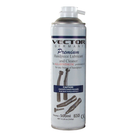 Vector Spray Premium Handpiece Lubricant - The Handpiece Center
