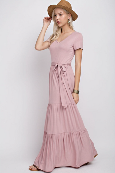 Flash Sale - Freya Maxi Dress - Dusty Rose
