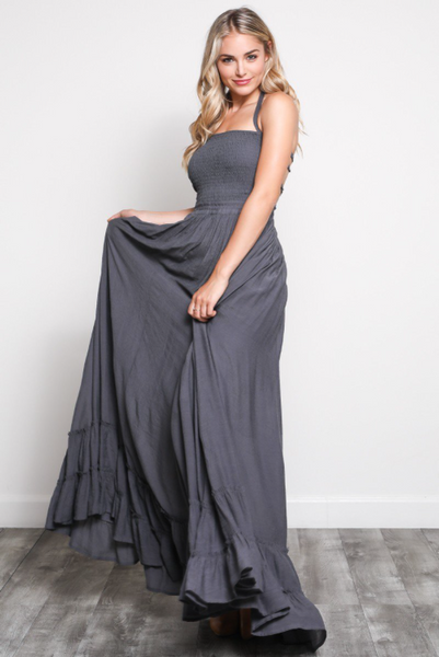 Preorder - Aurora Maxi Dress - Midnight