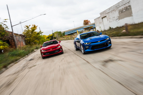 2016 Chevrolet Camaro - Car of the year!