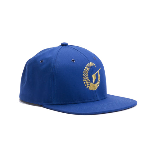 Absolute Hat - Royal/Metallic Gold