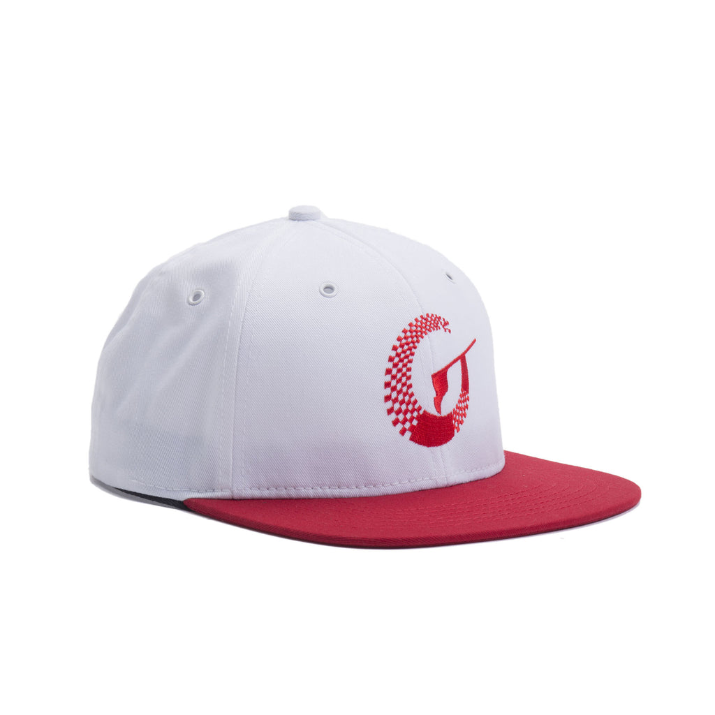 Absolute Hat - White/Red