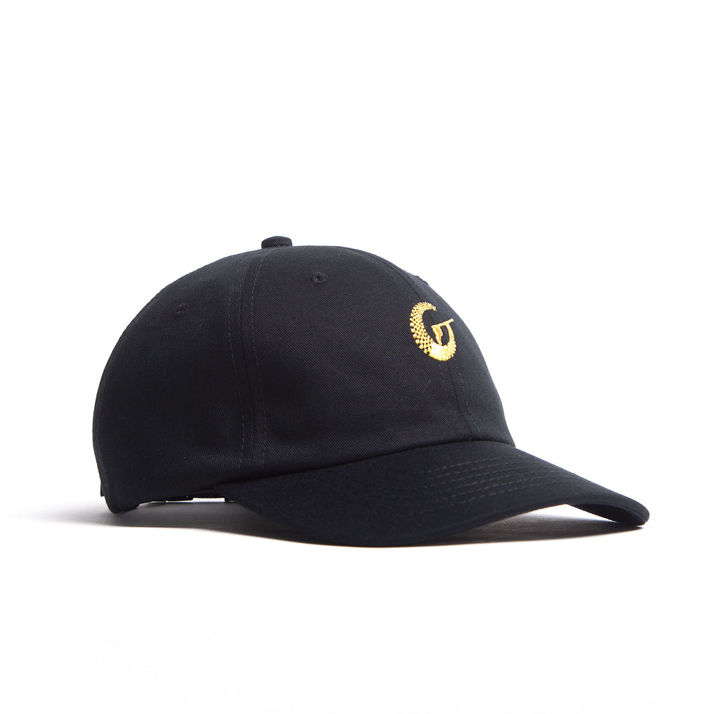 Infinite (Dad Cap) - Black/Metallic Gold