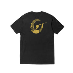 Inspire (T-shirt) - Black/Metallic Gold