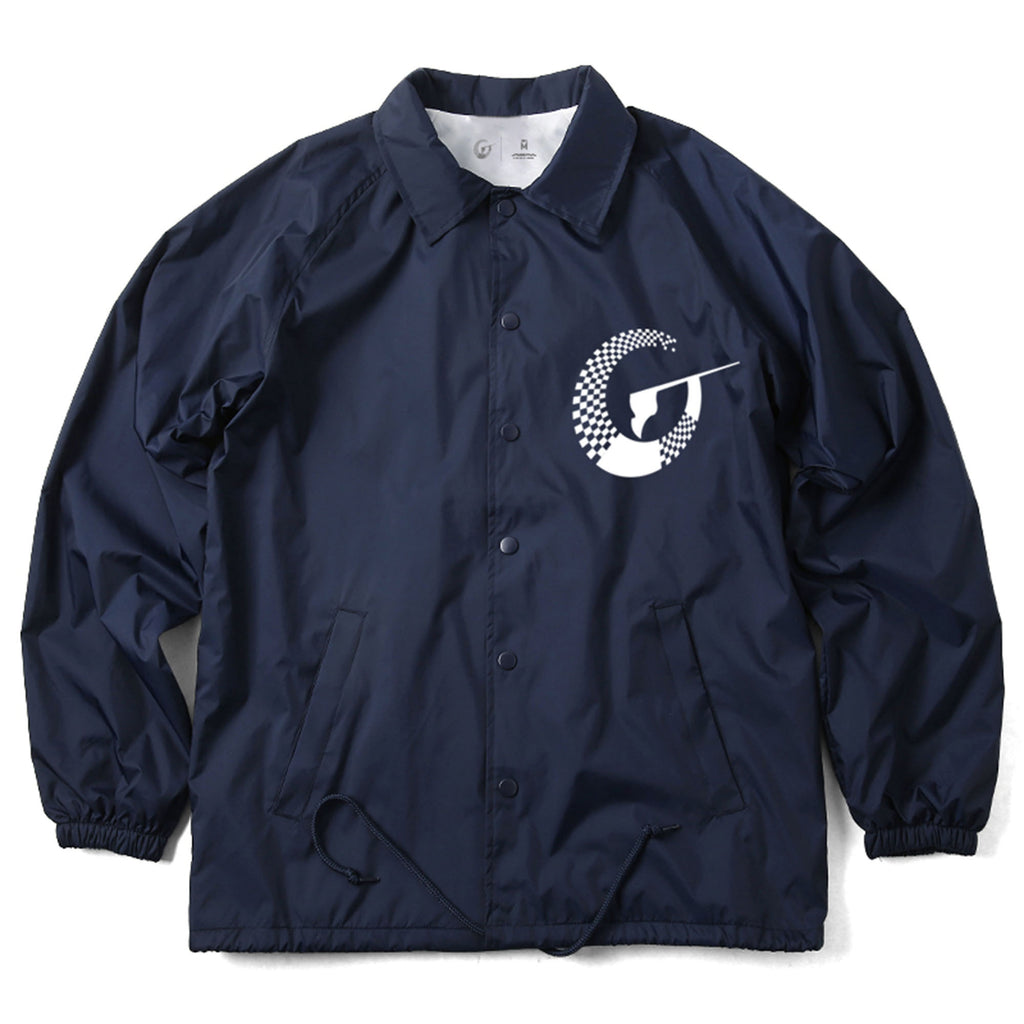 Inspire (Coach Jacket) - Navy/White