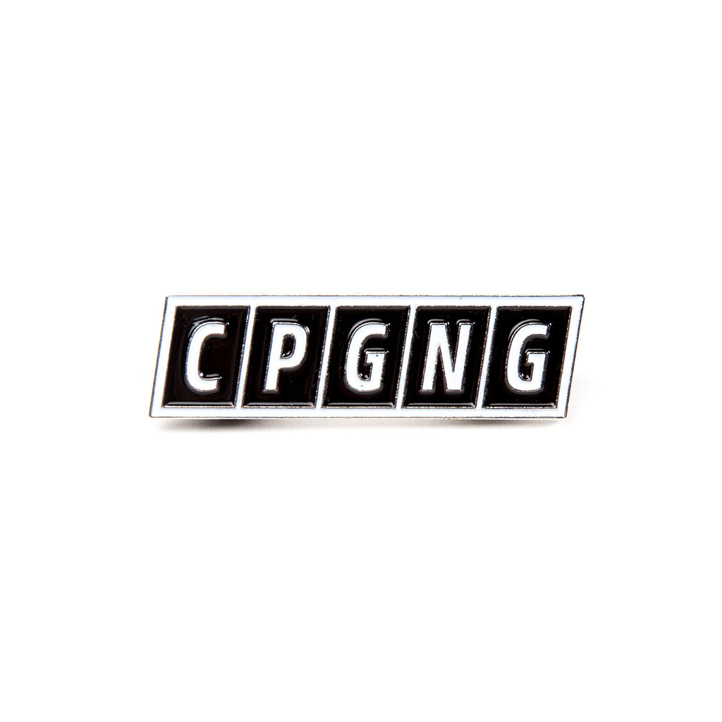 CPGNG - Black (Lapel Pin)