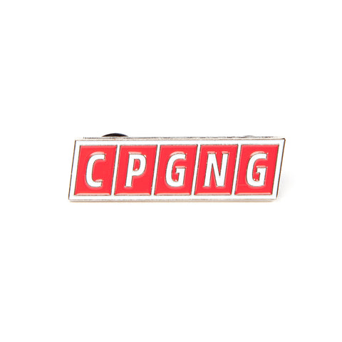 CPGNG - Red (Lapel Pin)
