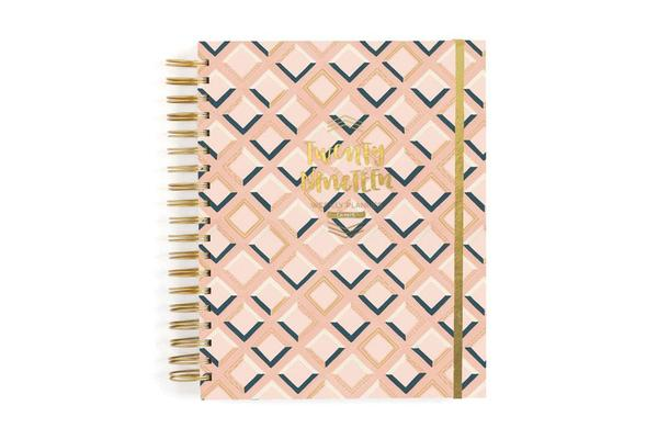 1 Canoe 2 Wise Words Planner in Pink Tile