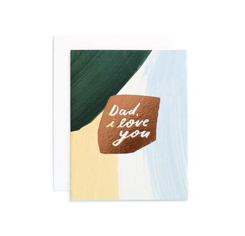 Dad, I Love You Card by Moglea