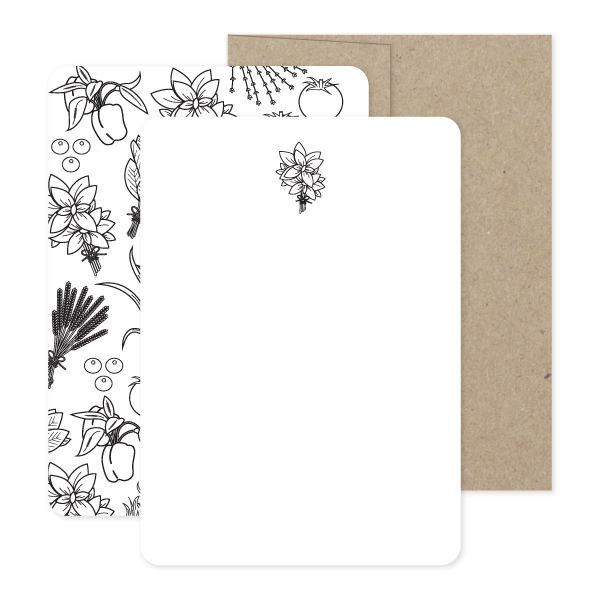 Farm To Family Stationery Set by Oh My Word Paperie