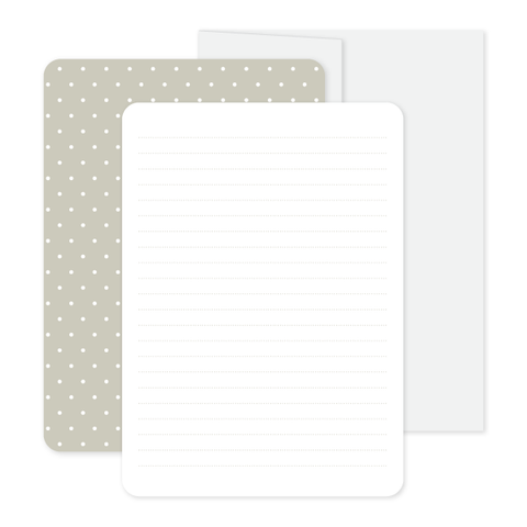 Quiet Repose Stationery Set by Oh My Word Paperie