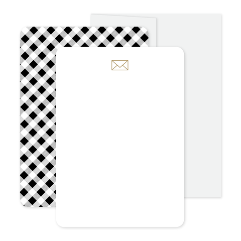 I A-Plaid You Stationery Set by Oh My Word Paperie