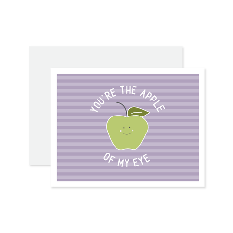 Apple Of My Eye Card by Oh My Word Paperie