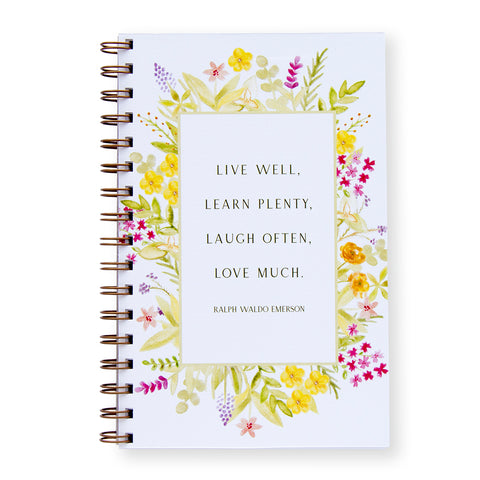 Love Much Notebook by Oh My Word Paperie