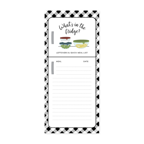 Leftovers Notepad by Oh My Word Paperie
