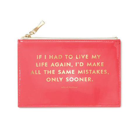 Same Mistakes Pencil Pouch by Kate Spade