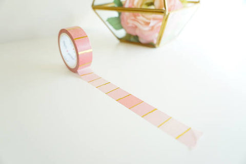 Pink Ombre Washi Tape by Simply Gilded