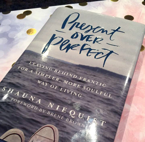 Book Discussion: Present Over Perfect, Friday Oct. 7th, 6:00-7:00 p.m.