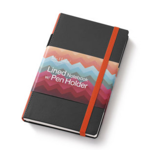 Small Lined Notebook Orange by Demdaco