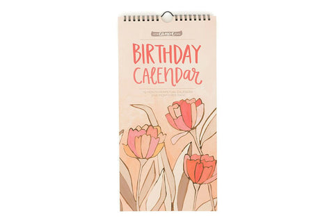 Birthday Calendar by 1 Canoe 2