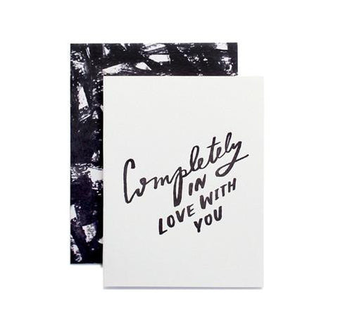 Completely in Love With You Card by Moglea