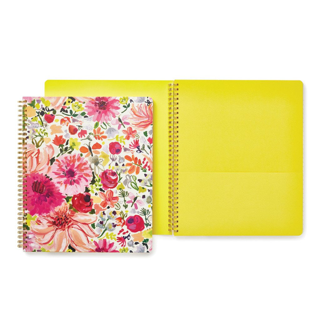 Dahlia Large Spiral Notebook by Kate Spade