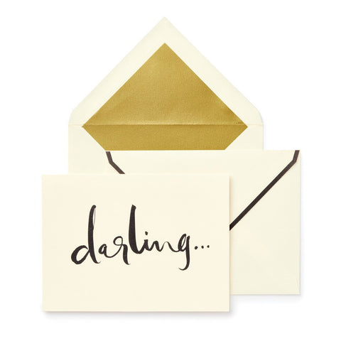 Darling Notecard Set by Kate Spade