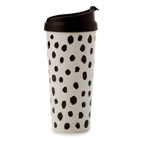 Flamingo Dot Thermal Tumbler by Kate Spade