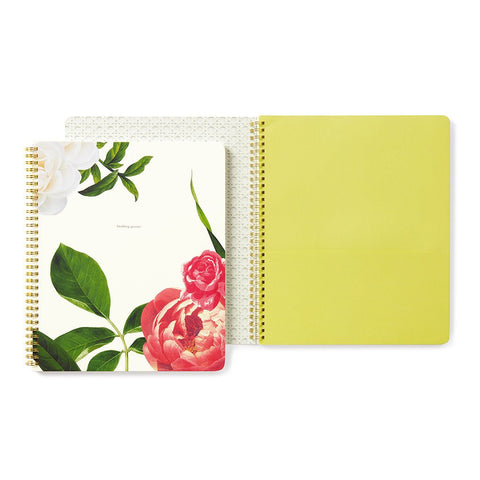 Floral Large Spiral Notebook by Kate Spade