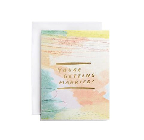 You're Getting Married Card by Moglea
