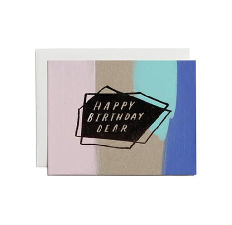 Happy Birthday Dear Card by Moglea