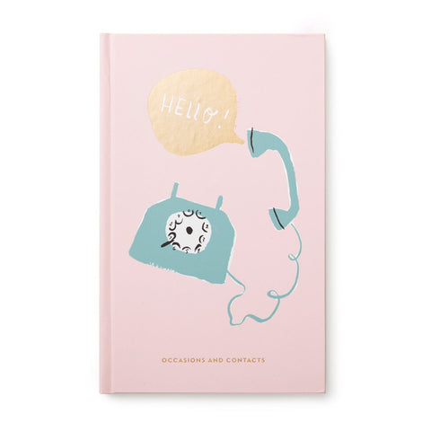 Hello! Address Book by Kate Spade