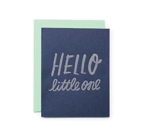 Hello Little One Card by Moglea