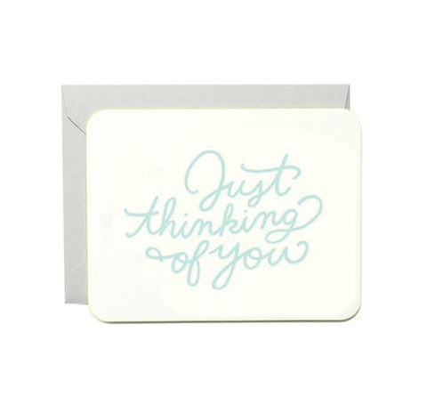 Just Thinking of You Card by Moglea
