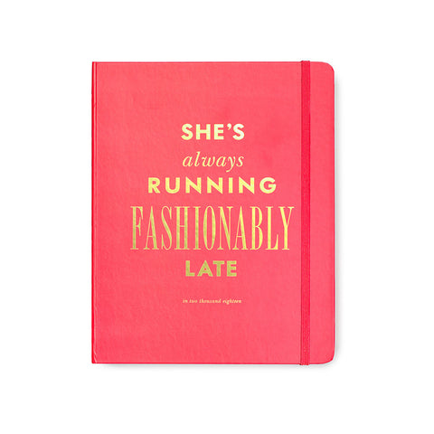 Fashionably Late 17 Month Large Agenda by Kate Spade