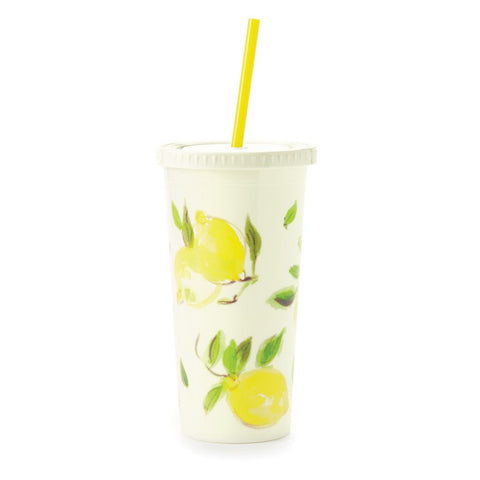 Lemon Insulated Tumbler by Kate Spade