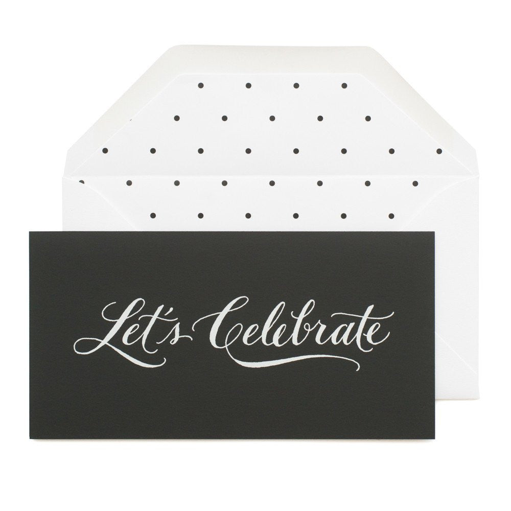 Let's Celebrate Card by Sugar Paper