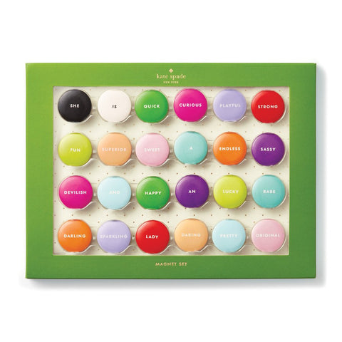 Assorted Magnet Set by Kate Spade