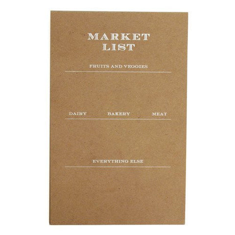 Market List Notepad by Sugar Paper
