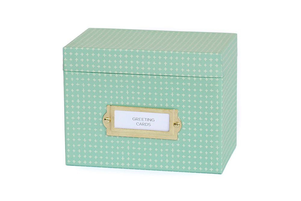 Mint Greeting Card + Recipe Box by 1 Canoe 2