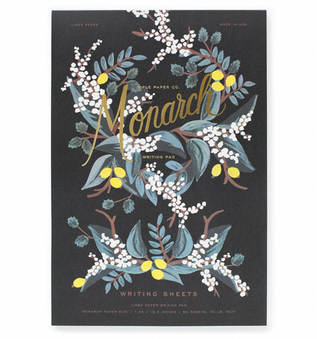 Monarch Writing Pad by Rifle Paper Co