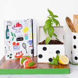 Deco Dot Recipe Box by Kate Spade
