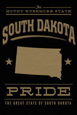 South Dakota Pride Notecard Set by Lantern Press